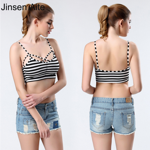05e0cf672f83 Womens Girl Lady Tank Top Camisole Tube Soft Modal Strap Strapless Crochet  Crop Bra Sexy Inner ...