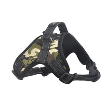 Professional Adjustable Harness Leopard Campo Outdoor – Pitbull Dog Harness Vest