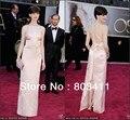 Freeshipping nova chegada custom-made Anne Hathaway Oscar Awards Celebrity Dress