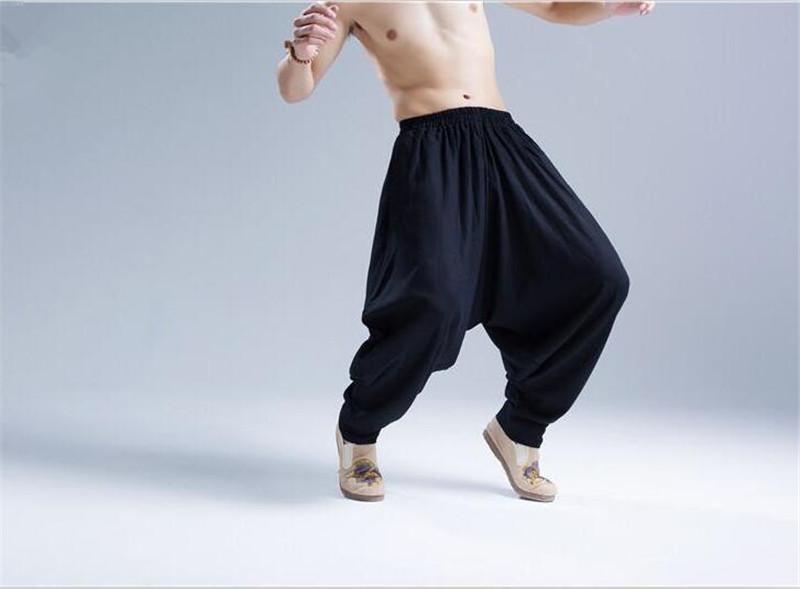 Pantalon Shenzhen noir sarouel