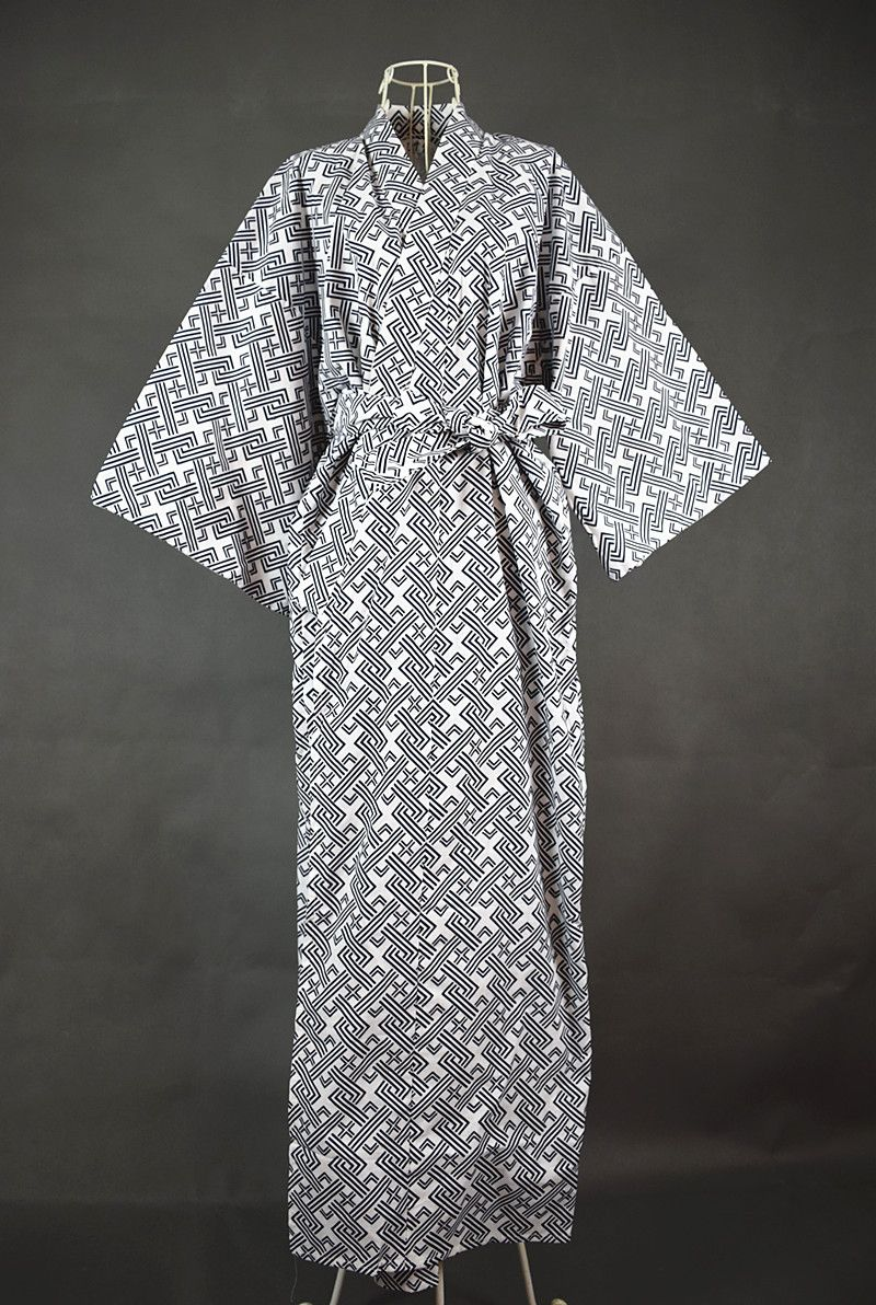 Cool Traditional Japanese Male Kimono Men S Robe Yukata