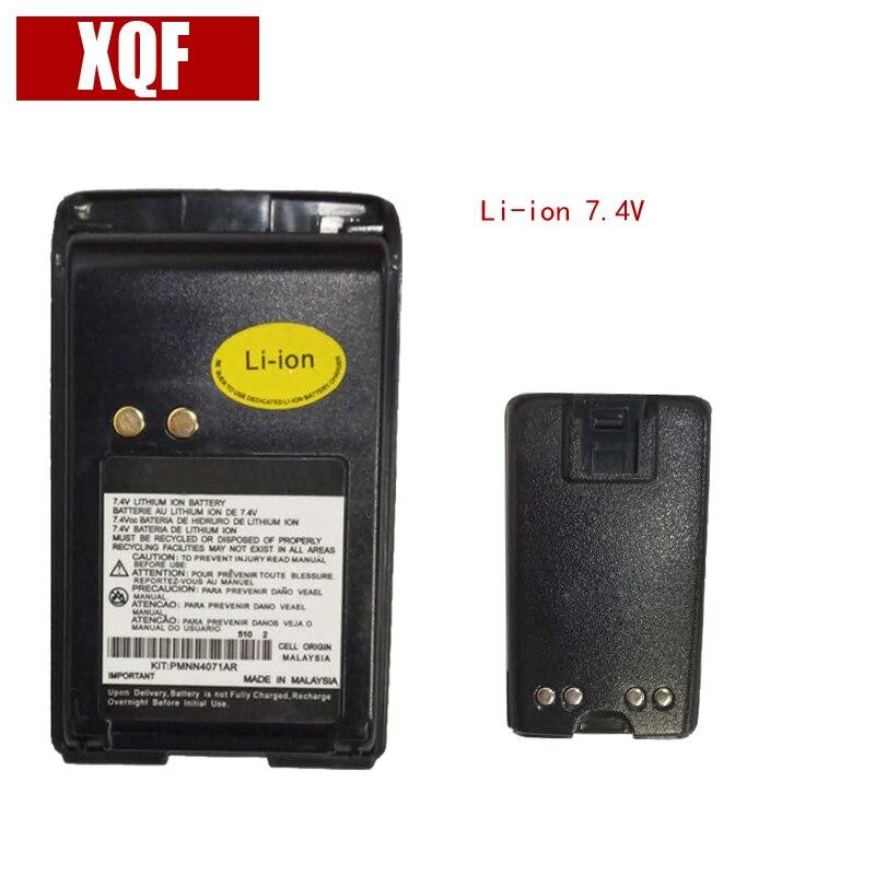 1600 mAh! 7,4 V Li-on Batterie für MOTOROLA Mag One BPR40 A8 Radio