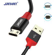 Reversible Micro USB Cable 5V 2A Fast Charging For Andriod Mobile Phones Microusb for Samsung Xiaomi Huawei Wire