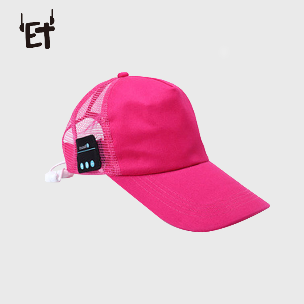 Vapeonly Wireless Bluetooth Music Headphone Hat Outdoor Sports Baseball Cap Smart Sun Hats w/ Mic Music Headset for iphone 6 7 8