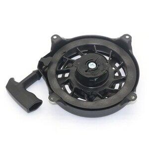 Image 5 - Zwart Onderdelen Vervanging Tool Pull Terugloopstarter 497680 Toro Grasmaaier Metalen Plastic Montage Voor Briggs Stratton