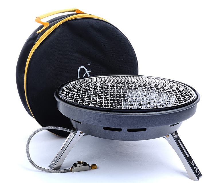 Multifunctional Gas Stove Large Bbq Grill Portable Cooking For 4 8 Persons