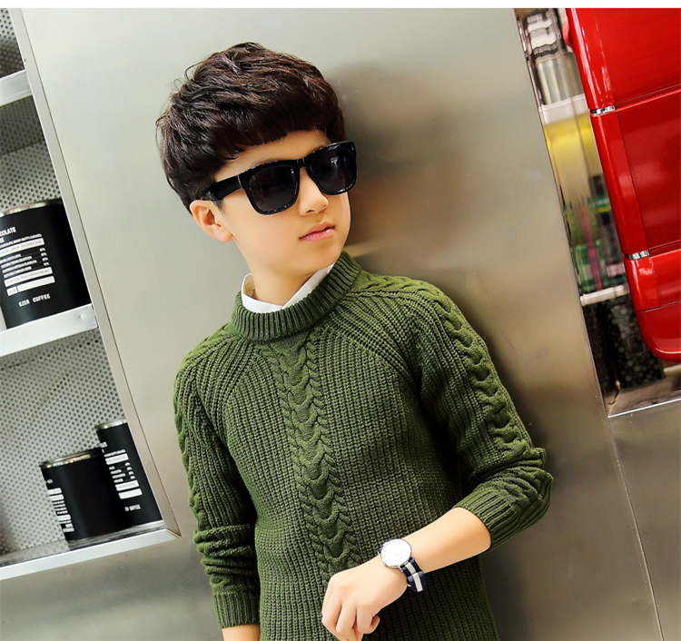 HTB1JSxPjBUSMeJjy1zjq6A0dXXai - 2019 winter children's clothing Boy's clothes pullover Sweater Kids clothes Cotton products Keep warm Boy sweater Thicker
