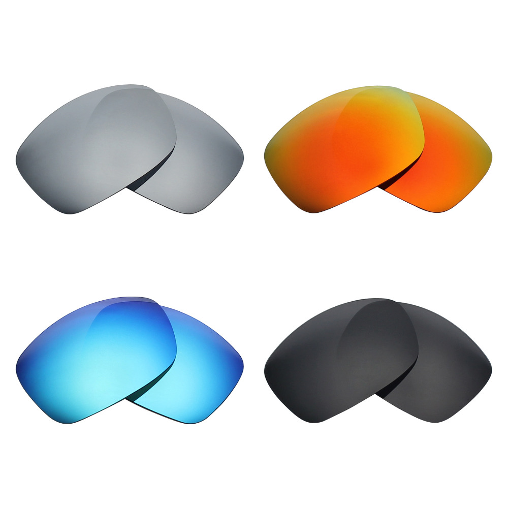 Mryok Lentes de repuesto POLARIZADOS antiarañazos para Oakley Ravishing Lens Lens-Multiple Options