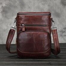Vintage Genuine Leather Men bag Business A4 Men Messenger Bags Men's Shoulder Bags Cowhide Men Cross Body Bag 2016 New handbag
