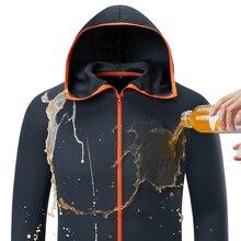 Мужская одежда для рыбалки Tech Hydrophobic, брендовая одежда, повседневная верхняя одежда kleding, куртки с капюшоном для кемпинга, ледяной шелк, водонепроницаемая