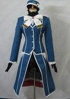 Anime Kantai Collection Atago Cosplay Costume Tailor Made