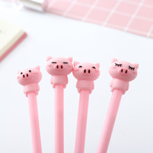Creative Cute neutral pen school pen pink expression gel pen office writing signature Pen student stationery supplies(China)