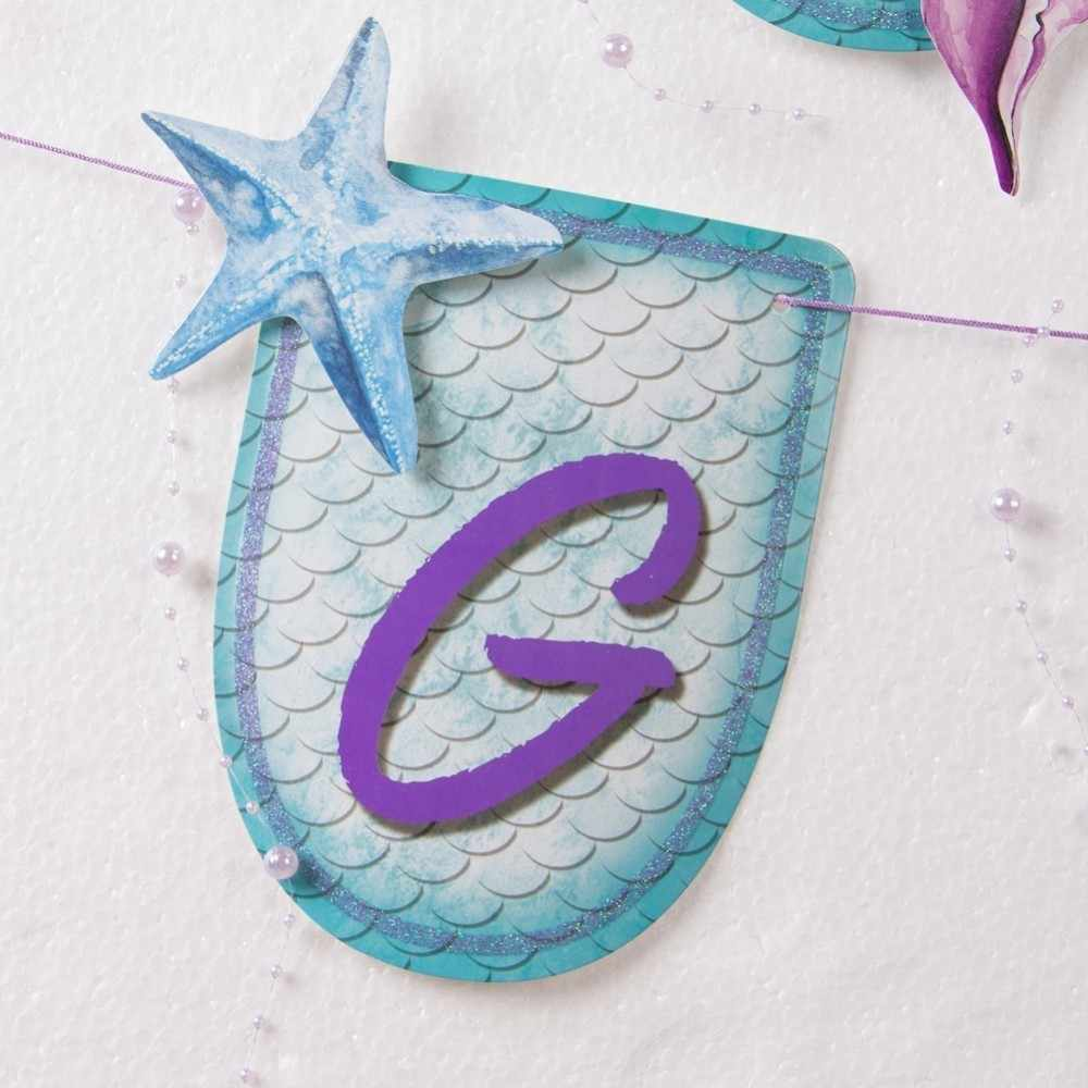 Little Mermaid Party Supplies Mermaid Party Girl Birthday Decorations Mermaid Birthday Party First Birthday Decorations