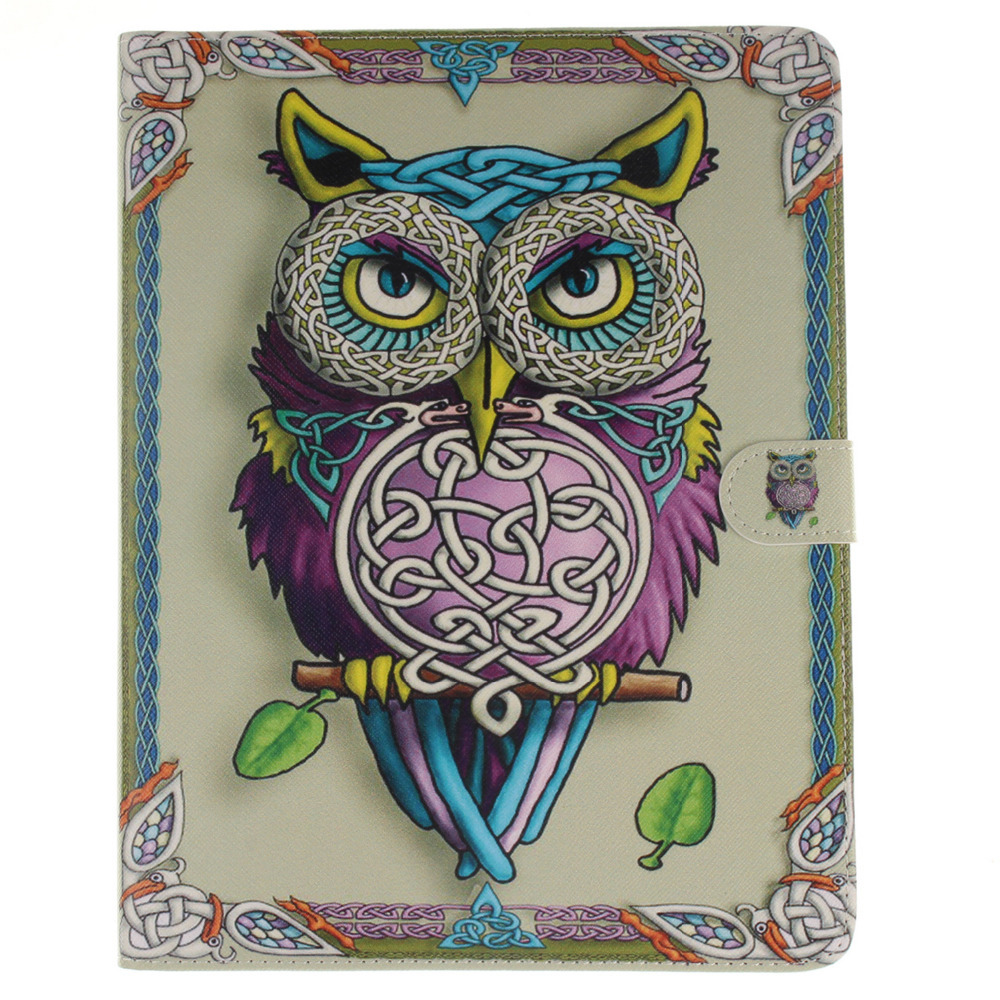 Sex Girl Owl PU Leather Case With Card Slots For Apple iPad 2 3 4 Case Stand Protector Skin For ipad 4 Cover рюкзак girl pu yt00172334