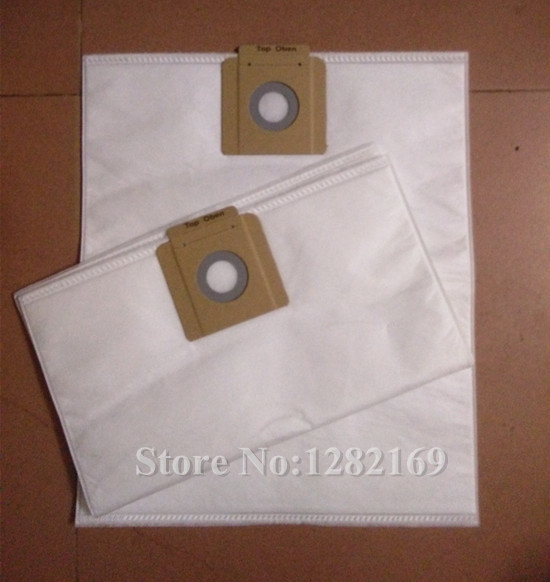 2 pieces/lot Vacuum Cleaner Bags Dust Filter Bag for Karcher T12/1 T8/1 T7/1 NT 25/1 NT 35/1 NT 361 vacuum cleaner cloth bag washable dust bag replacement for karcher t17 1 t12 1 t8 1 t14 1 bv5 1 t 10 1