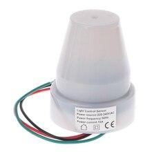 220 V-240 V/AC наружный фотоэлектрический датчик переключатель светильник Датчик управления автоматический выключатель с фотоэлементом для ламп W315