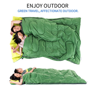 Image 4 - Naturehike Couples Double Sleeping Bags Outdoor Camping Hiking Sleeping Bag 2.15m*1.45m Portable Sleeping Bag Pillow
