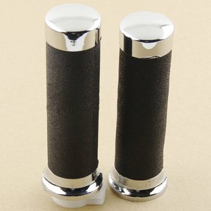 """Universal 1"""" 25mm Motorcycle HANDLEBAR RUBBER GEL HAND GRIPS For Honda Magna 250 Steed VLX 400 600 Shadow 400 750 VT600 VT750(China)"""