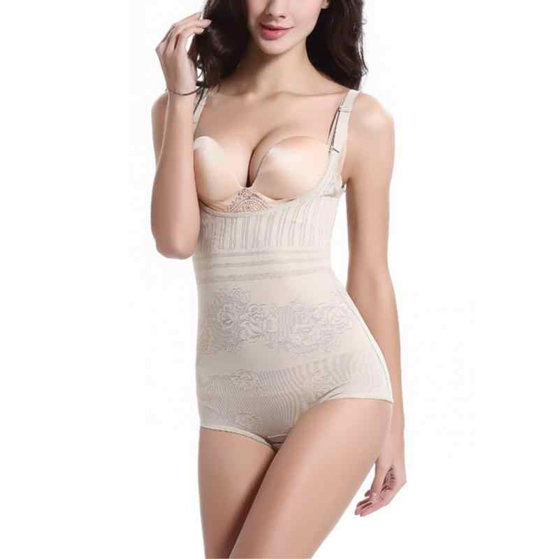 07072afa55 ... Women Sexy Body Shaper High Elastic Adjustable Slimming Shapewear Waist  Corsets Breathable Bodysuits Underwears ...