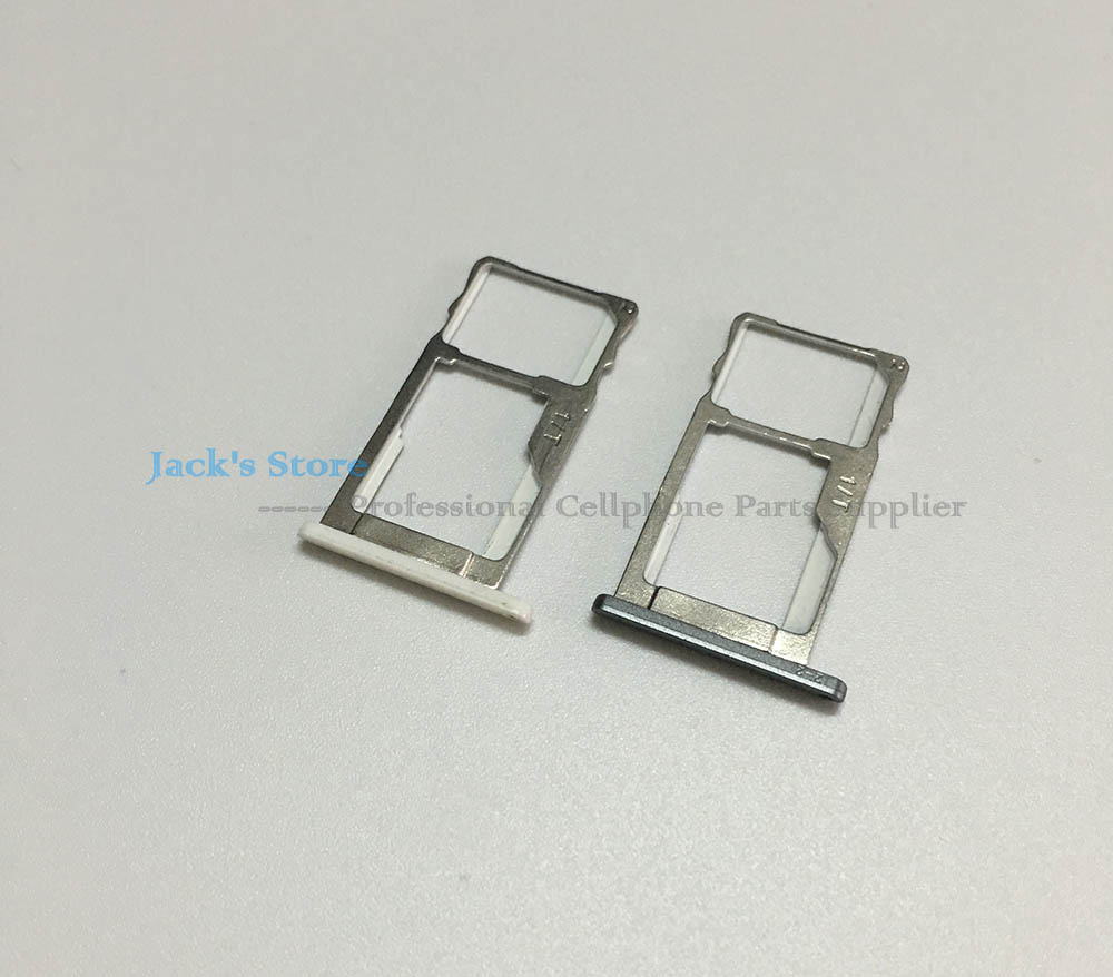 Black White For Meizu M2 Note SIM Card Slot Tray Adapter Card Slot Holder Replacement Spare Parts