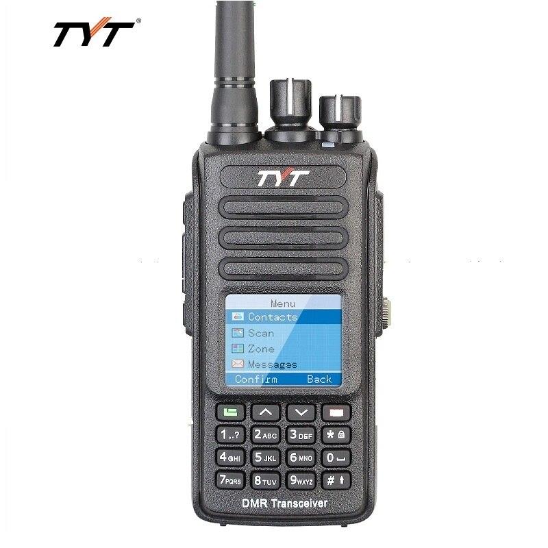 TYT MD398 Talkie-walkie Numérique DMR 10 w Puissance de Transmission UHF 400-470 mhz Imperméable IP67 Antipoussière jambon radio bidirectionnelle Interphone
