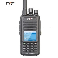 TYT MD398 Digital Walkie Talkie DMR 10W Transmit Power UHF 400 470MHz Waterproof IP67 Dustproof ham Two Way Radio Interphone