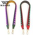 W.D.POLO Strapper you rivet handbags belts women bags strap women bag accessory bags parts split leather monster bag belts M2284