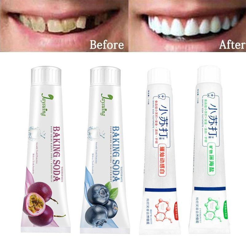 Press Baking Soda Teeth Whitening Toothpaste Intensive Stain