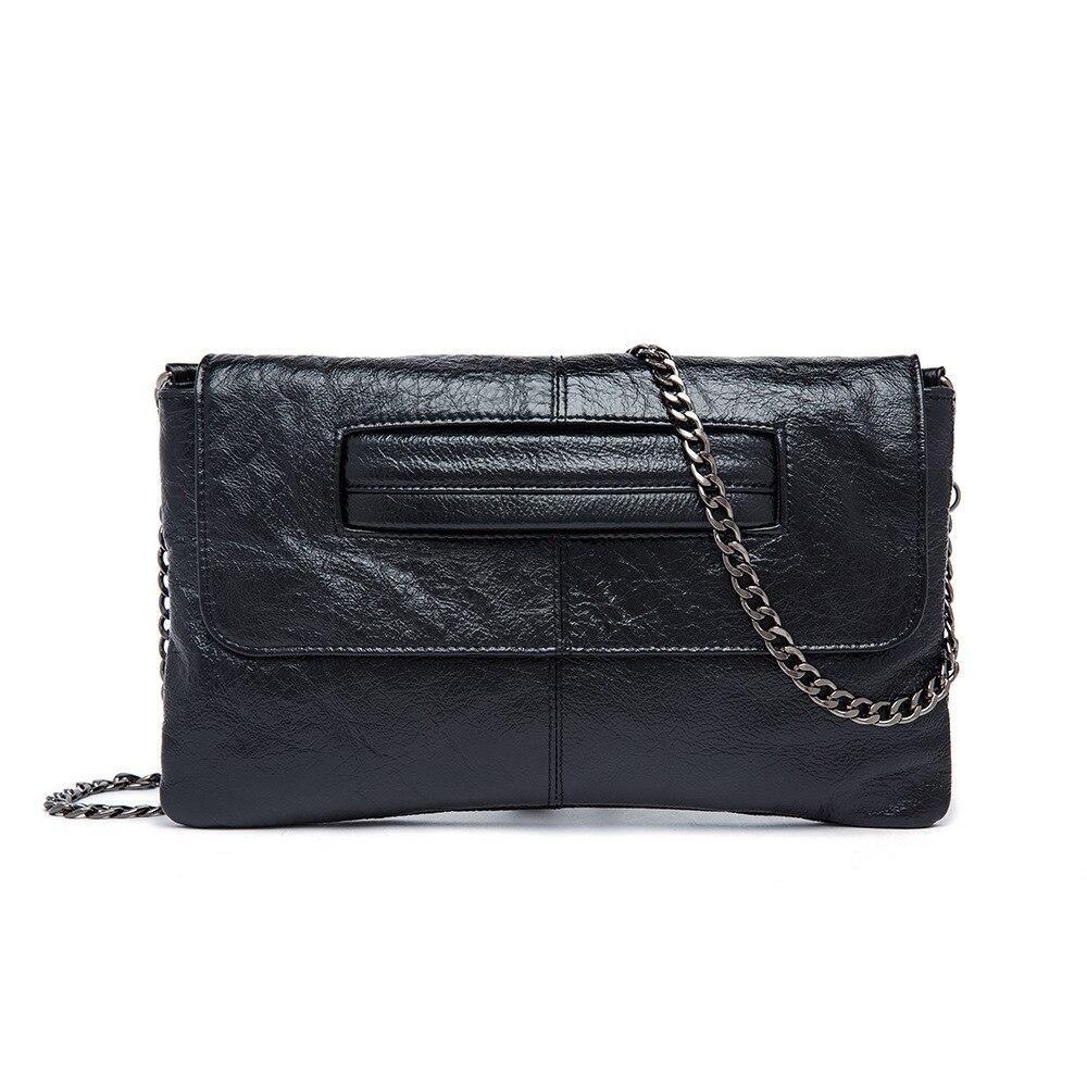 2018 Women Long Wallets Evening bag Genuine Leather Clutch Bag Wallet Bridal Wedding Party Bag Punk