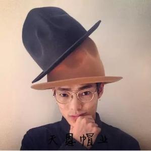 4c7e8560fa5 HXGAZXJQ mountain wool felt style fedora hats for men women