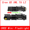 Mini Penlight Q5 XML-T6 XM-L2 Waterproof LED Flashlight Torch Zoom Adjustable Focus Lantern Portable Light  AA 14500 18650