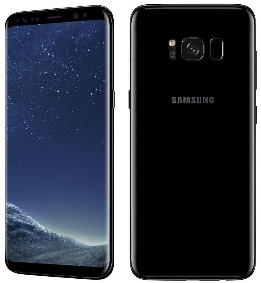 Refurbished Samsung Galaxy S8  64GB ROM+4GB RAM, 3500mAh,12+8MP, 5.8Inch  Dual sim Smartphone silver dual sim 3