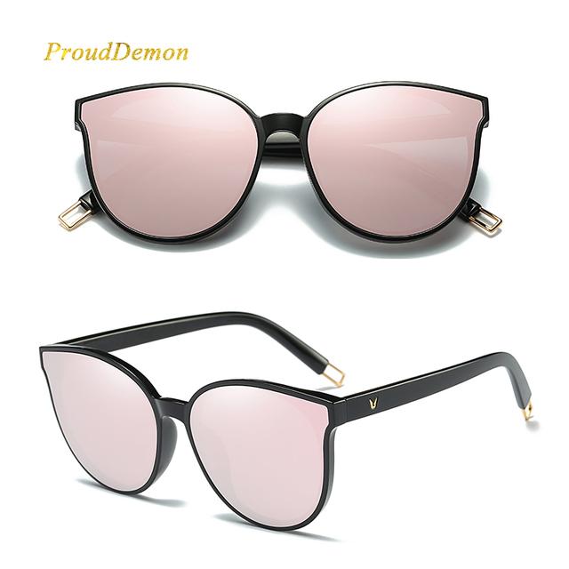 Elegant Luxury Flat Cat Eye Sunglasses