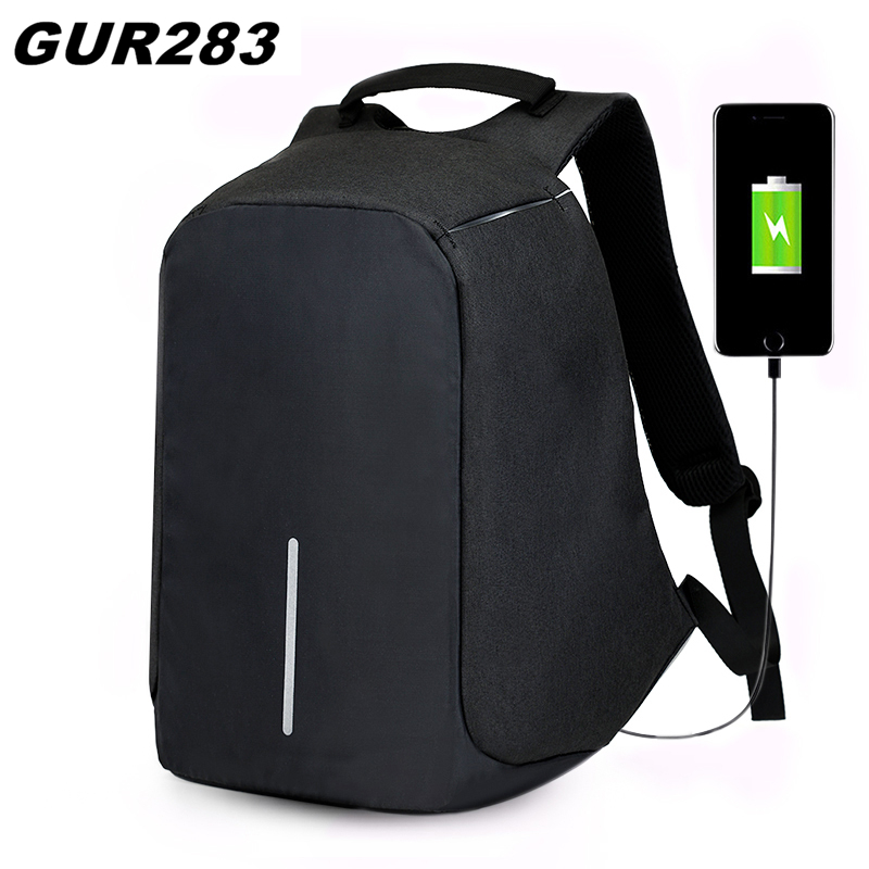 Anti Theft Backpack 15 inch Laptop waterproof backpack USB Charge school bags Business Men Travel bag mochila feminina bagpack