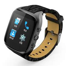 Bluetooth ZW66 Smart Wrist Watch Phone With SIM Card Slot 3G GSM/WCDMA/GPS/WiFi Android 5.1 OS Smartwatch Heartrate Touch Screen