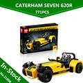 EN STOCK Lepin 21008 Creativo Serie Técnica El Caterham 620R Clásico Coche de Carreras Juego de Bloques de Construcción Ladrillos 21307