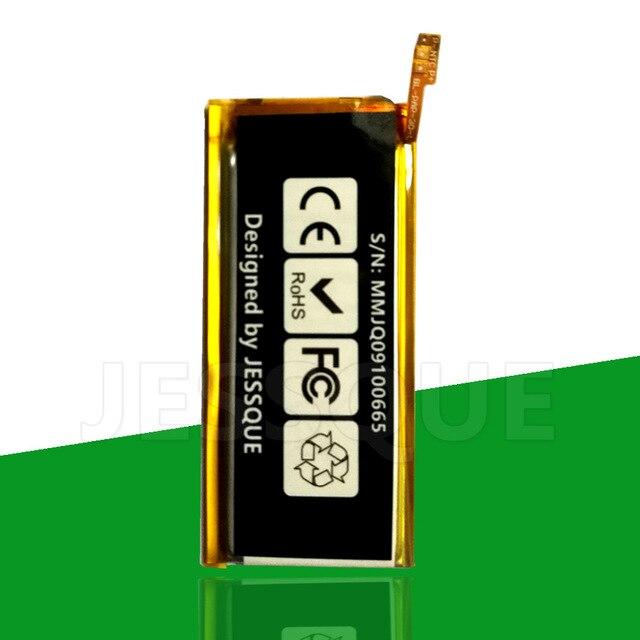 2PCS/LOT 240mAh 616-0467 616-0406 Battery For Apple iPod Nano 4th 5th G4 g5 Gen. 4 5 Nano4 A1285 8GB 16GB MP3 MP4 Accumulator