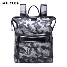 MR.YLLS Men Camouflage Business Backpack Women Laptop Bags Travel Lovers Backpacks School Fashion Computer Bag mochila
