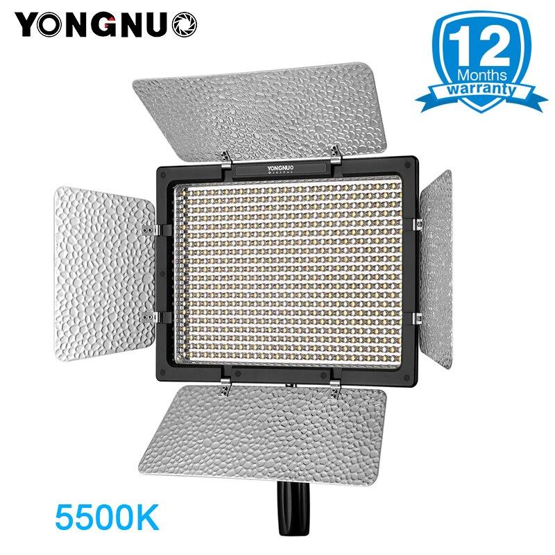 YONGNUO YN600L YN600 L LED Panneau Lumineux 5500 k Photographique Studio éclairage Téléphone APP Télécommande pour Appareil Photo REFLEX Caméscopes