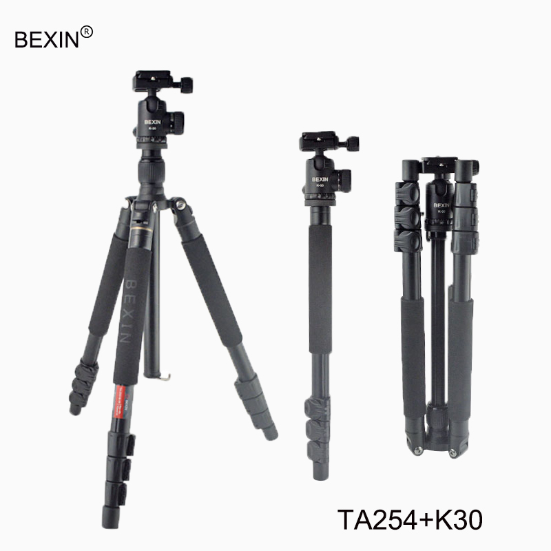 Aluminum Portable Foldable Flexible Professional Travel Tripod accessories Camera with Ball head for Nikon Canon Sony SLR Camera universal camera tripod professional high quality aluminum alloy travel tripod for canon sony nikon slr dlsr camera stand new