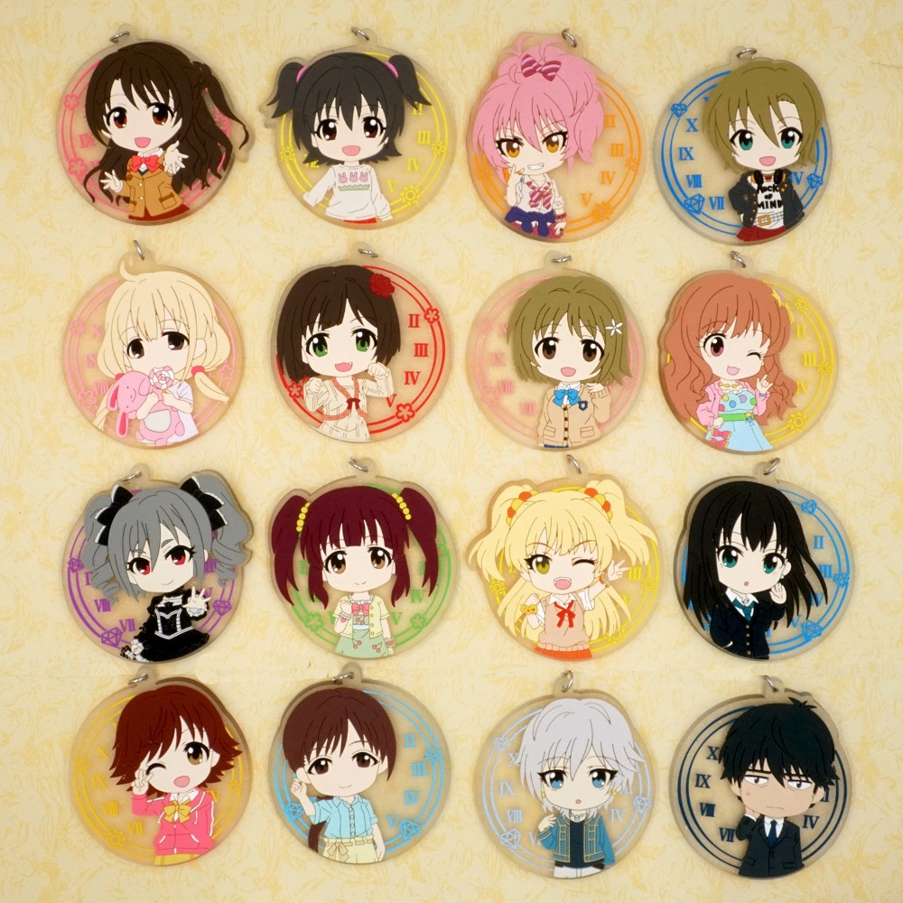 THE IDOLM@STER CINDERELLA PROJECT Anime FUTABA Idol Master Rubber Keychain ...