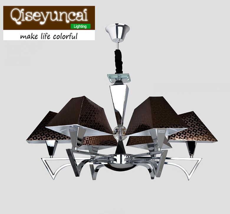 modern minimalist living room bedroom study fashion wrought iron chandelier lighting restaurant cafe Art Chandelier with 6 light ceiling lighting minimalist modern balcony study bedroom lighting led intelligent atmospheric living room dining room
