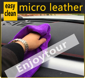 Image 5 - For Mercedes Benz GLA CLA Class GLA180 GLA200 CLA250 220 Leather Dashmat Dashboard Cover Pad Dash Mat Sunshade carpet 2013 2019