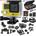 "Original action camera H3R 4K ultra HD 2.0""LCD wifi sport camera Waterproof 30m camera 170 Lens go pro style+extra battery"