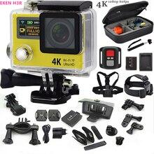 "Orijinal eylem kamera H3R 4 K ultra HD 2.0 ""LCD wifi spor kamera Su Geçirmez 30 m kamera 170 Lens git yanlısı stil + ekstra pil"