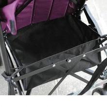 Корзина для детской коляски, Сетчатая Сумка, черная сумка на колесиках, сетчатый карман для хранения бутылочек, пеленок, органайзер, сумка, держатель, аксессуары для детской коляски