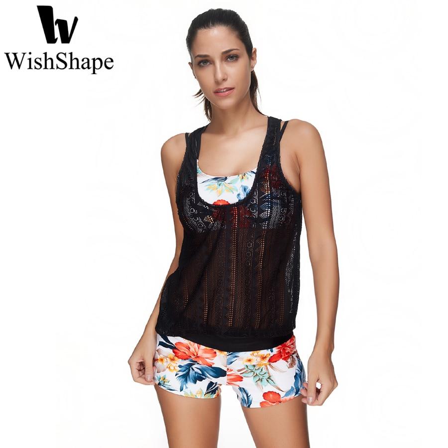 sexy lace tankini swimsuits women halter swimwear push up. Black Bedroom Furniture Sets. Home Design Ideas