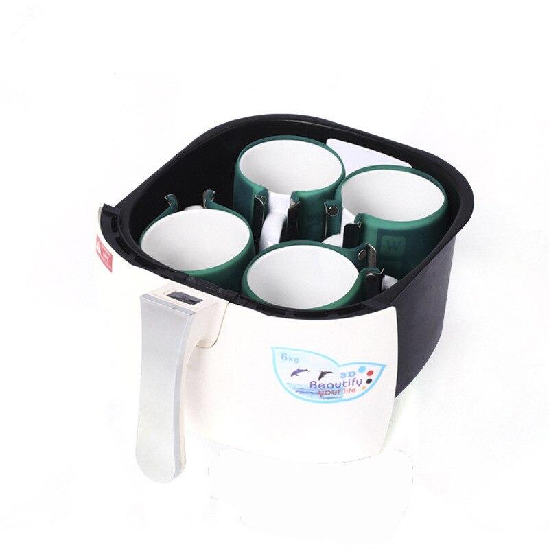 Vácuo Máquina Da Imprensa do Calor 3D MINI Caso de Telefone Impressora Imprensa do Calor de Sublimação para Canecas foto ou imagem profissional 110v /220v - 5