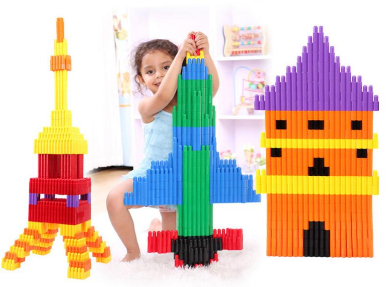 ФОТО 132 PCs Brand Children Bullet match building blocks/ self locking bricks plastic assemble blocks for Kids educational toys