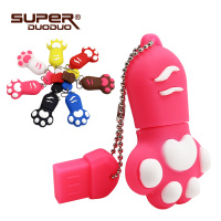 USB flash Drive 4GB 8gb 16gb Cat paw Pen drive Cartoon pendrive 32GB USB Stick Flash Drive 64GB USB Flash Key Chain